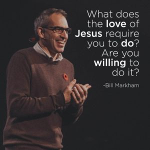 What does the love of Jesus require you to do? Are you willing to do it?
